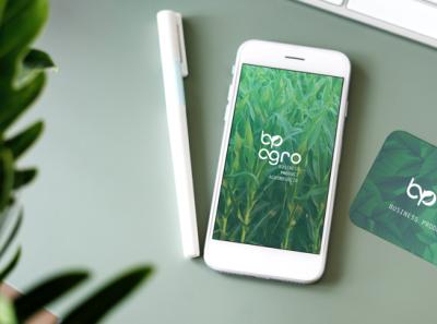 Brand BP Agro ui branding design icon logo