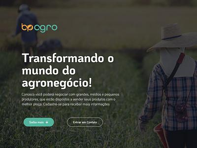 BP Agro logo ui ux