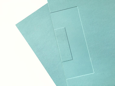 Ferenczy Museum Box | close-up pt 2 minimalism swissdesign typography art minimal blue vector 2d design