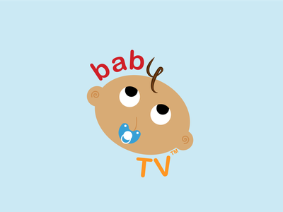 BabyTV Logo Redesign logo redisign baby tv branding illustration cartooning logo design designsbylos