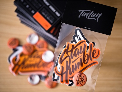Creative South '16 Goodie Pack product packaging calligraphy lettering package design