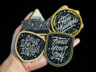 Mission Patches mission nasa exploration space lettering patch embroidery