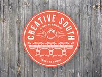 Creative South Bridge Badge