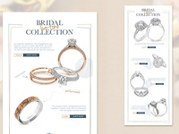 New Bridal Collection Email Campaign