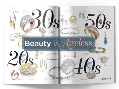 Bazaar's Magazine Layout Design