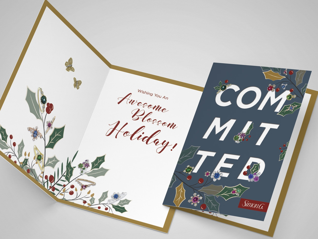 Invitation   greeting card mockup   by punedesign