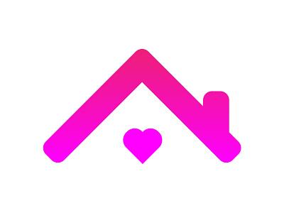 Stay at home love ireland heart home icon coronavirus illustration logo branding design graphicdesign