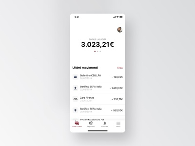 Mobile Bank Concept [Private Label] branding type uidesign typography icon app design ux ui
