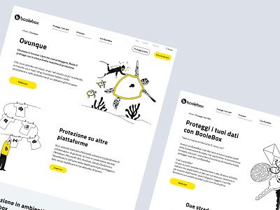 Corporate WebSite Redesign [Boolebox] vector illustration uidesign branding corporate design corporate design ux ui