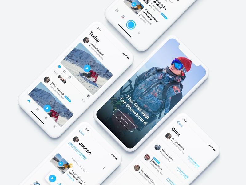 Snowboard Social App