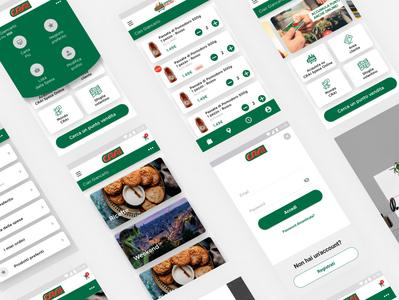 CRAI UI Redesign App icon design app ux ui uidesign
