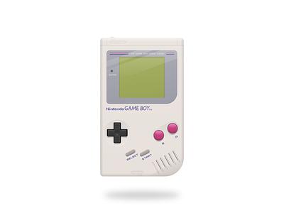 Gameboy Illustration video games nintendo vector illustration
