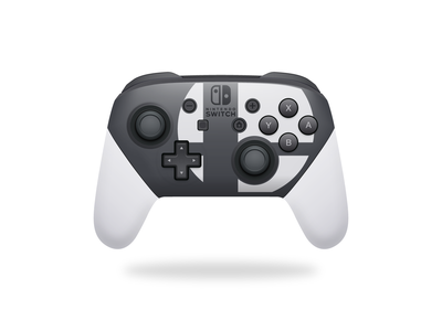 Switch Pro Controller video games vector illustration skeuomorphism controller pro nintendoswitch nintendo