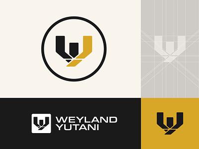 Weyland-Yutani Rebrand Concept fiction science movie film brand logo yutani weyland branding scifi alien
