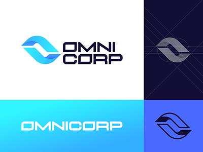 OmniCorp Rebrand Concept robocop omnicorp identity corporate scifi logo branding vector