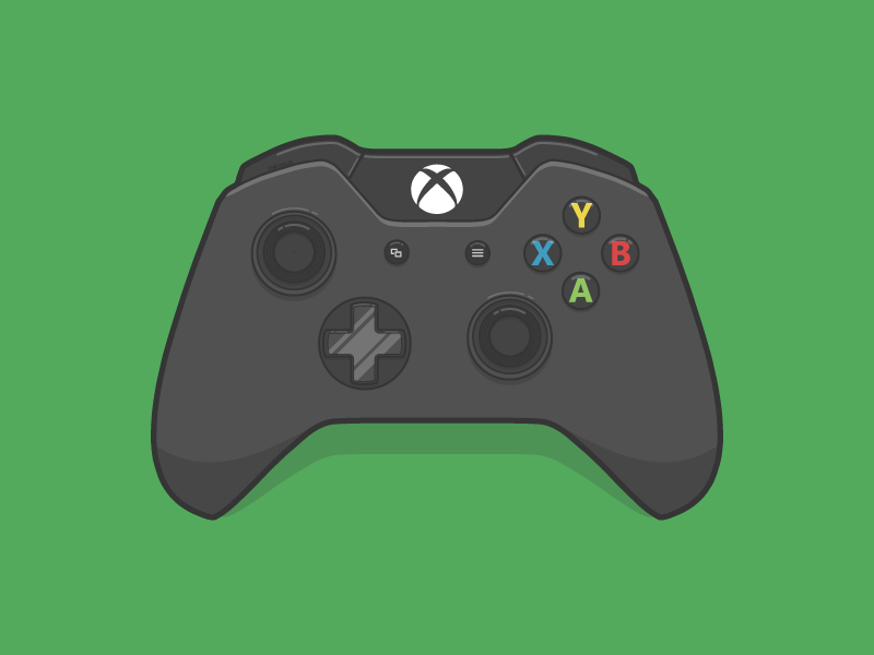 Calendar Illustration Xbox One : Xbox one controller by kevin m butler 🚀 dribbble