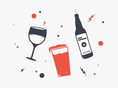 Drink Spot Illustration