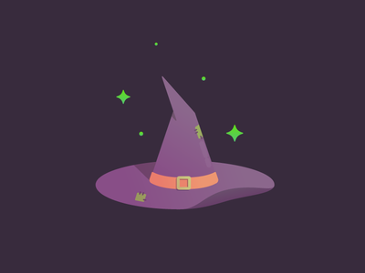 Witch's Hat october halloween hat witch