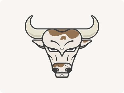 Bull Illustration horns cow bull