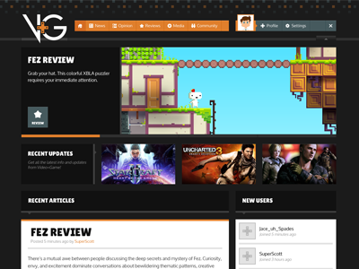 Video Plus Game 03 video game website logo mockup video games