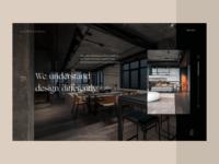 Interior Design Studio Website