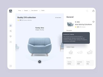 Designer Furniture Store Website responsive website responsive adaptive design adaptive grid layout webapp furniture motion ae typography aftereffects animation ux concept website uxui design ui