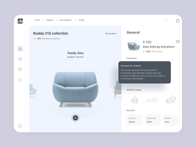 Designer Furniture Store Website responsive website responsive adaptive design adaptive grid layout webapp furniture motion ae typography aftereffects animation ux concept website uxui design ui