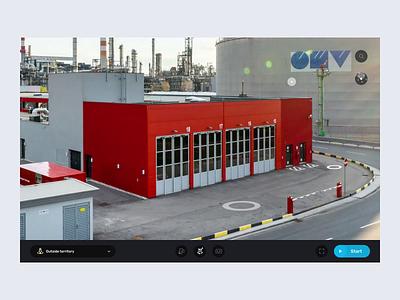 Enterprise's Virtual Tour virtual tour tour 3d tour after effect ae motion design web app webapp augmentedreality augmented reality