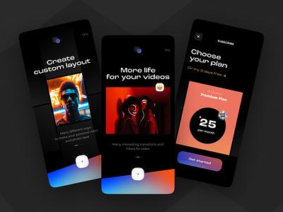 Crop & Drop App iosapp videoeditor mobile mobile app app ux uxui design ui