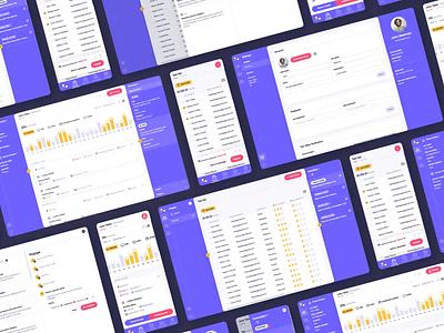 Molequle cdxp ui ux uxui admin panel admin dashboard crm crm dashboard platform aftereffect animation motion web app webapp leads