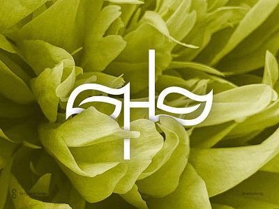 HunLove Logo and Brand Identity care beauty bath organic health bodycare love hl typography monogram mark logo minimal letter simple