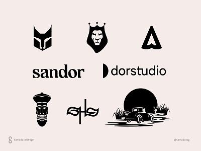Logos and Marks 2020 samadaraginige branding illustration clever design wordmark typography monogram mark logo minimal letter simple