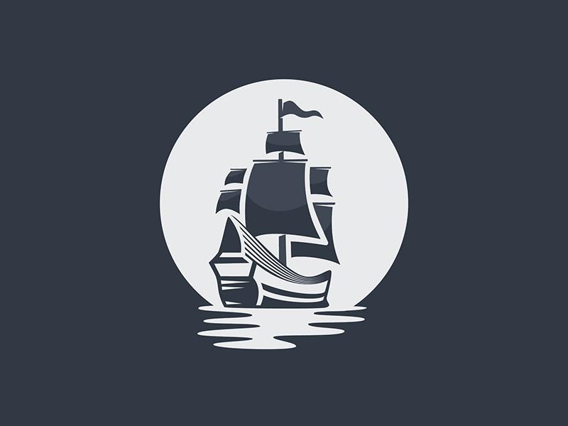 Ship Logo By Samadara Ginige Dribbble