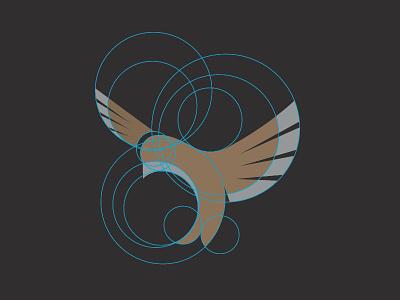 Lark geometric simple bird producer music grid lark