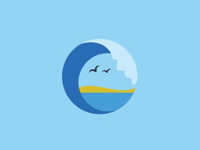 Logo-mark for a travel company