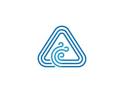 AC monogram lineart repair manufacture design air-condition monogram ac