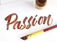 Passion Lettering