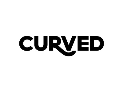 Curved Wordmark verbicon minimal simple wordmark letter curved