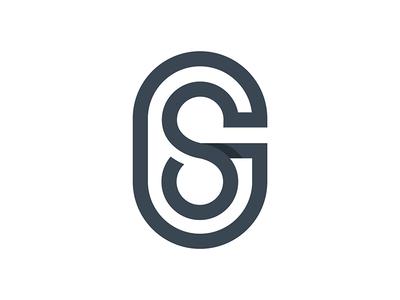 SG monogram letter minimal simple mongram sg