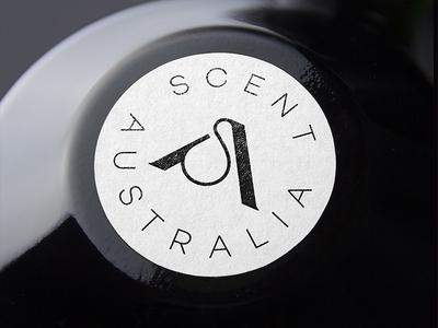 Scent Australia letter minimal simple mongram sa