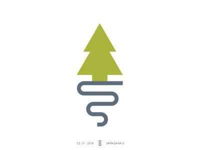 Tree/Road