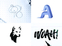2018 Top 4 on Dribbble