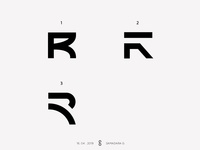 R letter-mark exploration