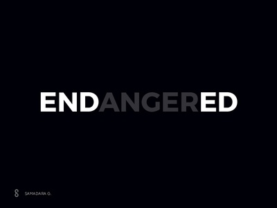 ENDED, not ENDANGERED