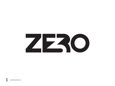 3Zero Logo write media typography simple negative space wordmark logo story article perspectives magazine 3zero zero three 3