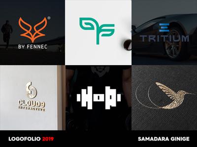 Logofolio 2019 design samadaraginige samadara verbicon typography monogram letter mark minimal simple logodesign logofolio logo