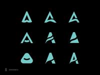 A letter-marks