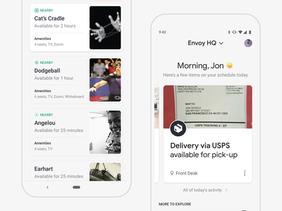 Envoy Mobile is Live! 🎉 app store live ux android app iphone mobile ios ui design