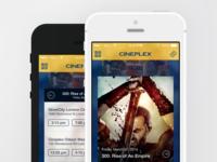 Cineplex App - UX Improvement