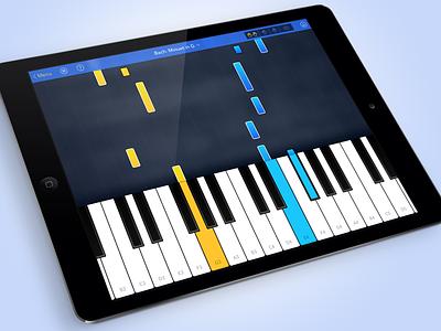 Grand Piano Redesign design ios redesign ipad piano keys keyboard learn
